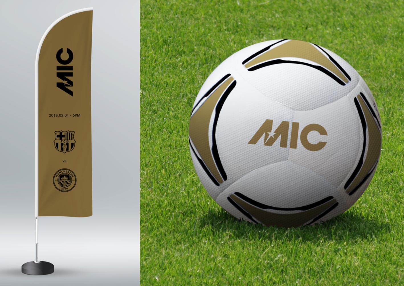 MIC Football USA Brand application