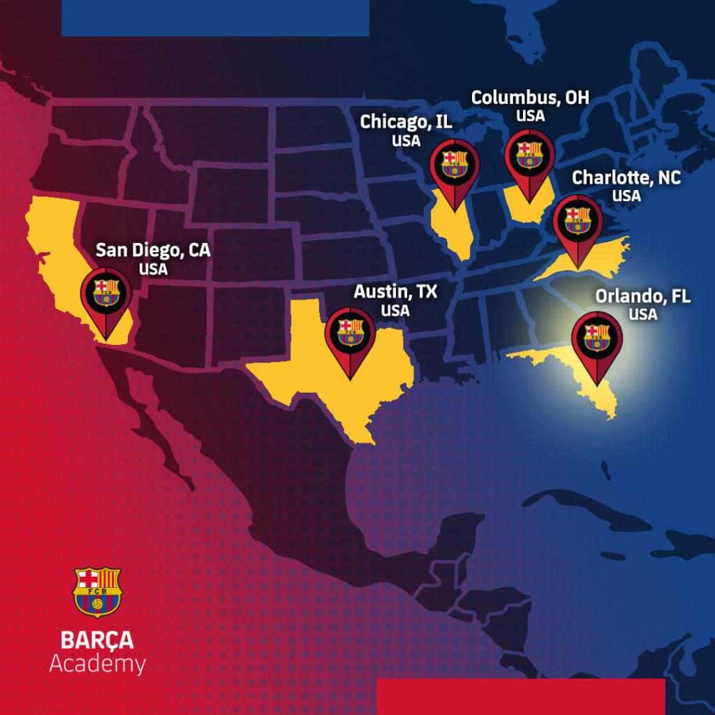 Barca Academy Orlando and ISL