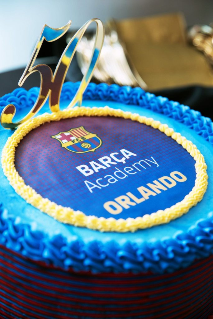 Barca Academy Orlando Press Conference