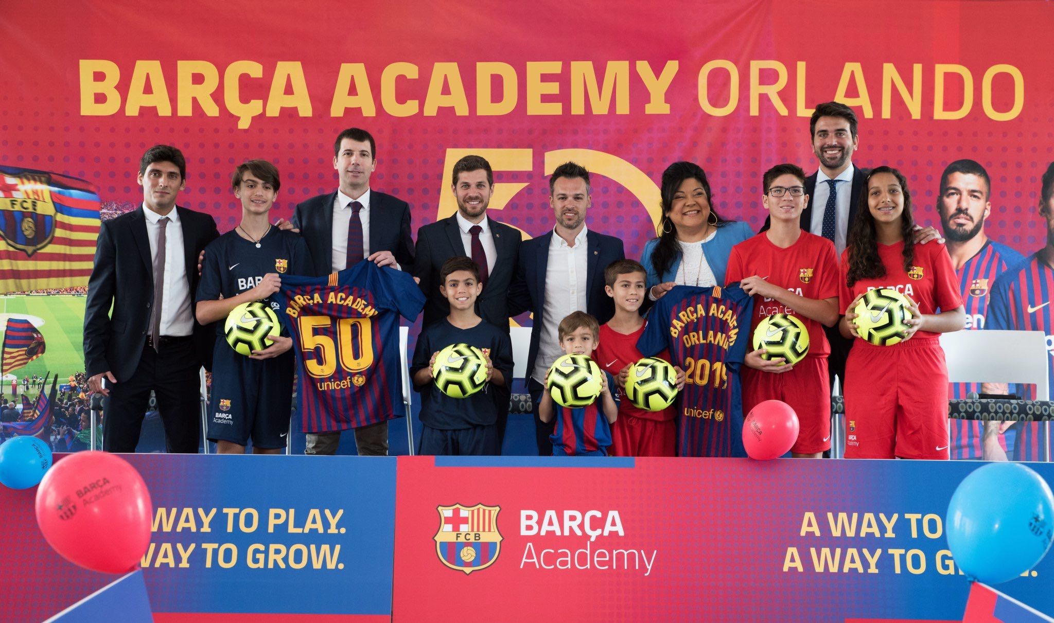 Barca Academy ISL Press Conference