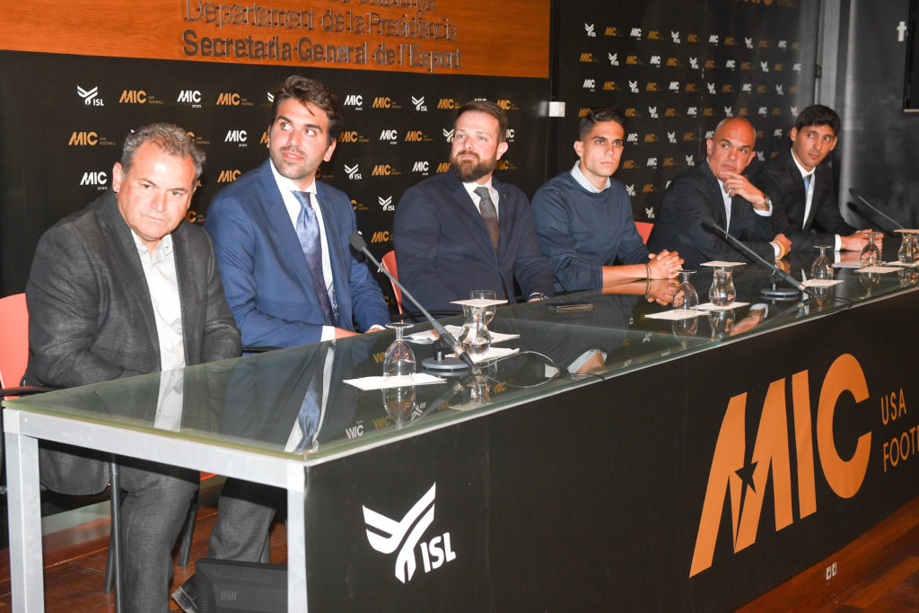 MIC Football USA announcement press conference