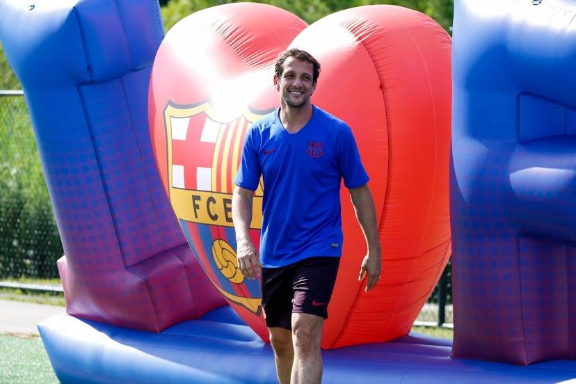 Juliano Belletti arriving