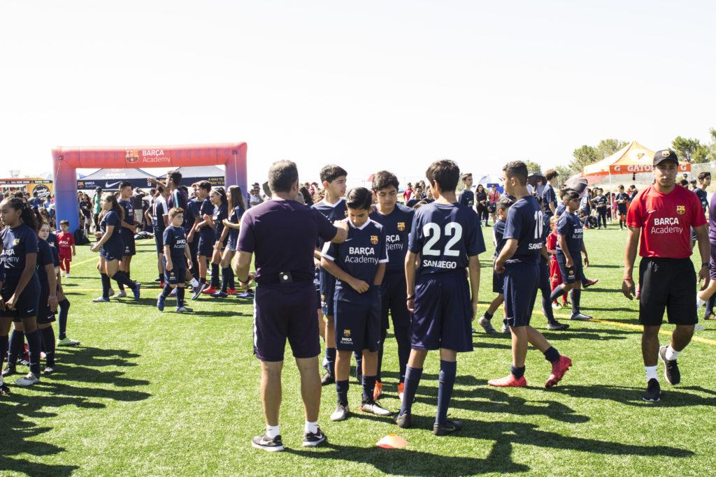 Barca Academy Opening Ceremony