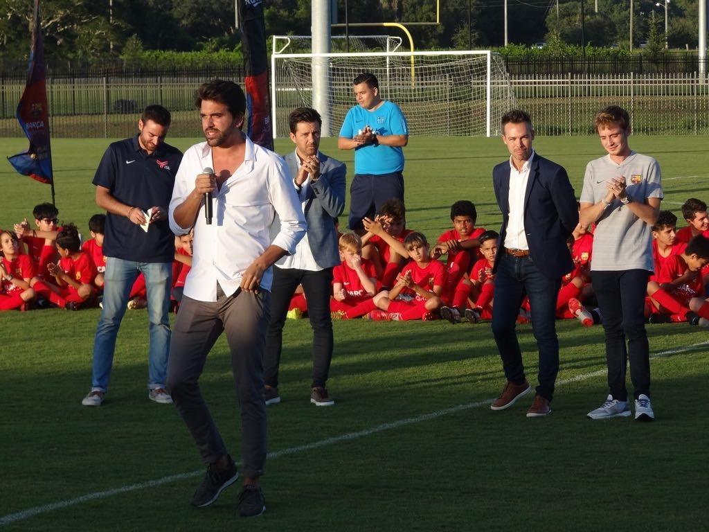 Marc Segarra ISL Barca Academy